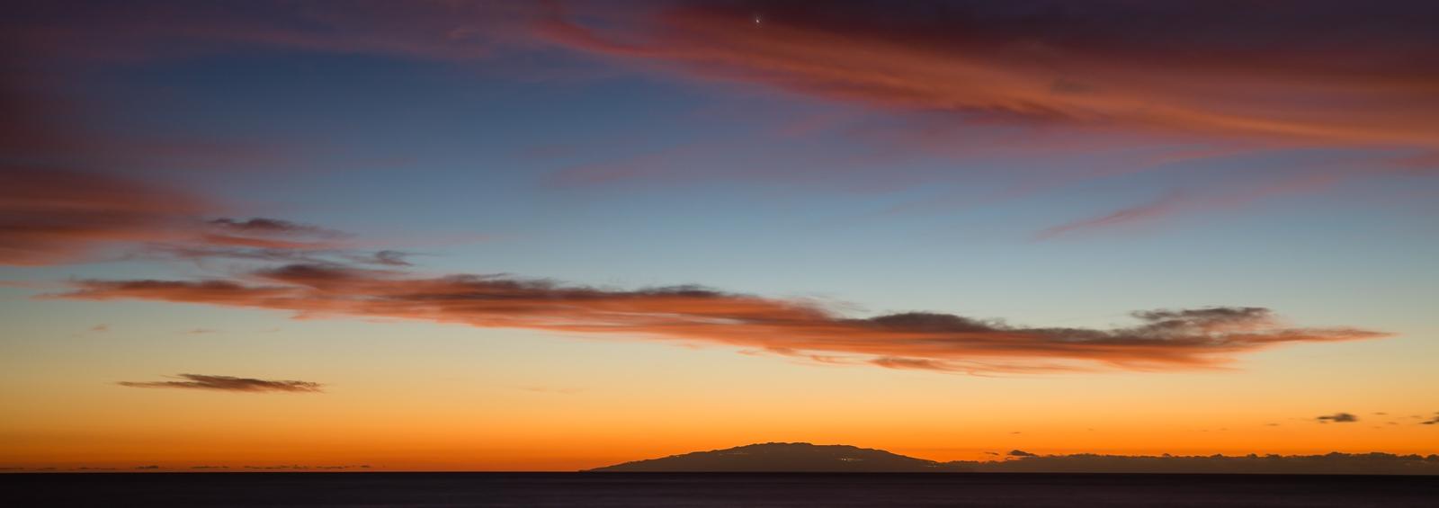 Puntilla Sunset on Xmas Day